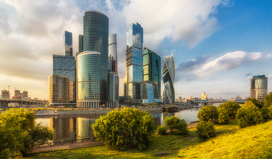 Finance and Economy「Moscow International Business Centre (MIBC)」:スマホ壁紙(11)