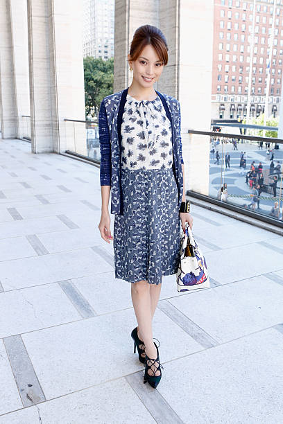 Tory Burch - Front Row - Spring 2013 Mercedes-Benz Fashion Week:ニュース(壁紙.com)