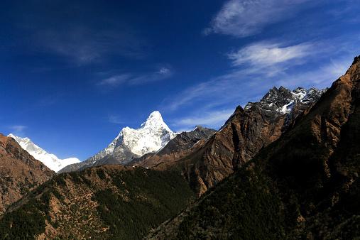 Khumbu「Snow Capped Ama Dablam Mountain,」:スマホ壁紙(10)