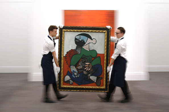 Painting - Activity「Sotheby's Hold Press Preview of Contemporary, Impressionist and Modern Art」:写真・画像(12)[壁紙.com]