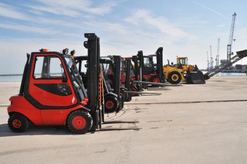 Convoy「Fork lift fleet」:スマホ壁紙(3)