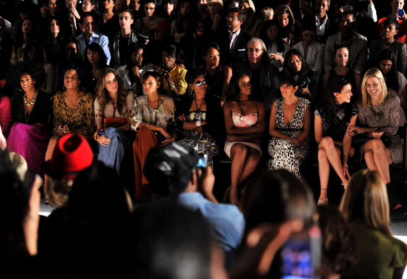 Spring Collection「Tracy Reese - Front Row - Spring 2012 Mercedes-Benz Fashion Week」:写真・画像(8)[壁紙.com]