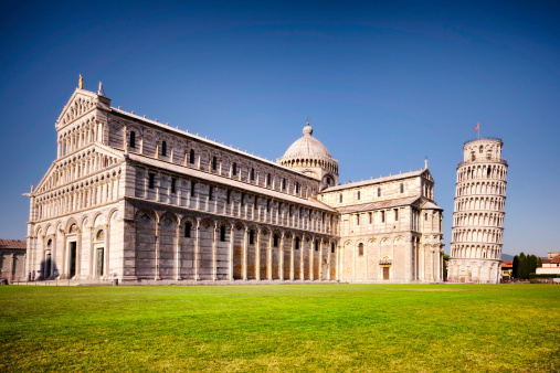 Cathedral「The leaning tower of Pisa and Cathedral, Italy」:スマホ壁紙(16)