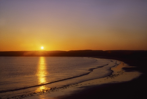 Shadow「Lahinch At Sunset, Co Clare, Ireland」:スマホ壁紙(12)