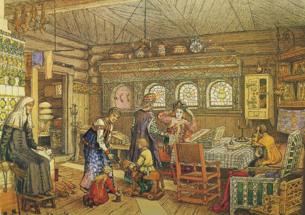 Architecture「Gornitsa (Living Chamber) In An Old Russian House Of The 16Th-17Th Century」:写真・画像(14)[壁紙.com]