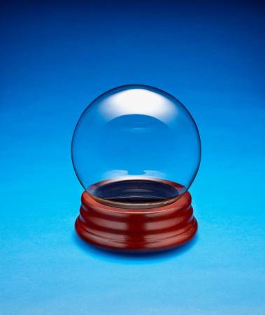 スノードーム「Empty glass globe」:スマホ壁紙(14)