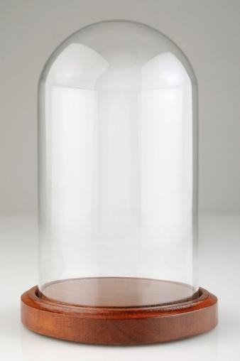 透明「空のガラスドームの展示ケース、ダストカバー、クリッピングパス」:スマホ壁紙(3)