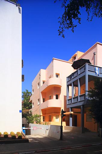 Boulevard「Bauhaus building  near Sderot Rothschild boulevard」:スマホ壁紙(15)