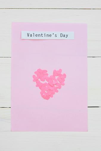 恋愛「Handmade Valentines card ready to give. Debica, Poland」:スマホ壁紙(4)