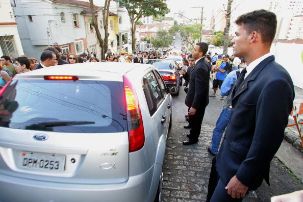 Wedding Reception「Footballer Kaka Marries Caroline Celico - Church」:写真・画像(19)[壁紙.com]