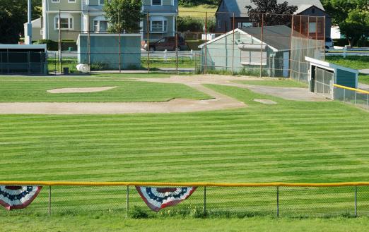 Small Town「Baseball field」:スマホ壁紙(17)