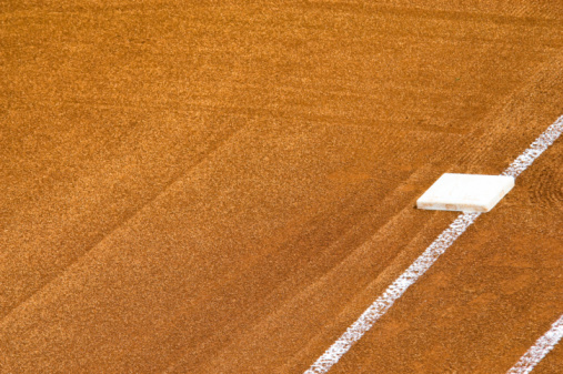 野球「フィールドで野球の試合観戦」:スマホ壁紙(7)