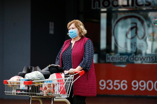 Melbourne - Australia「Victoria Records New COVID-19 Death As Coronavirus Cases Rise」:写真・画像(6)[壁紙.com]