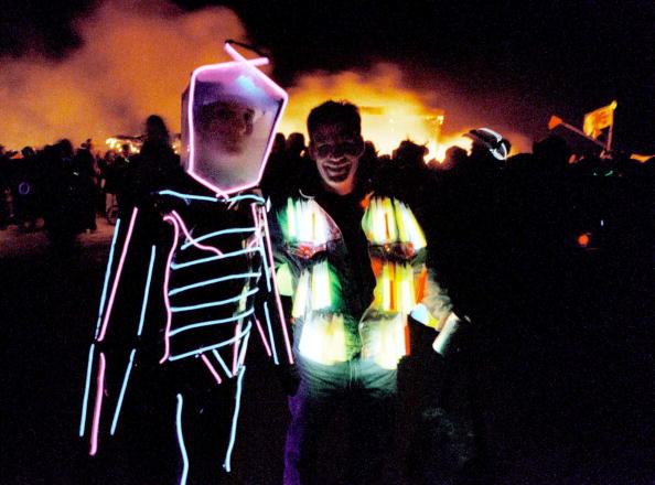 Nevada「Burning Man Festival in Nevada Desert」:写真・画像(4)[壁紙.com]