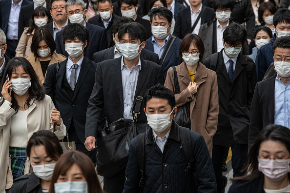 Tokyo - Japan「Japan To Declare A State Of Emergency To Contain Coronavirus Outbreak」:写真・画像(8)[壁紙.com]