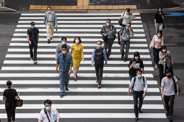 Japan Eases Lockdown As Coronavirus Cases Continue To Rise:ニュース(壁紙.com)