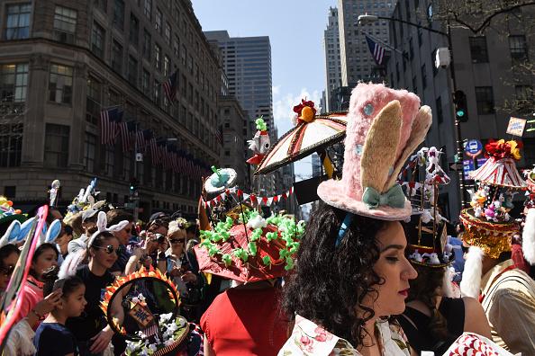 イースター「Fanciful Easter Bonnets On Display At NYC's Annual Easter Parade」:写真・画像(11)[壁紙.com]