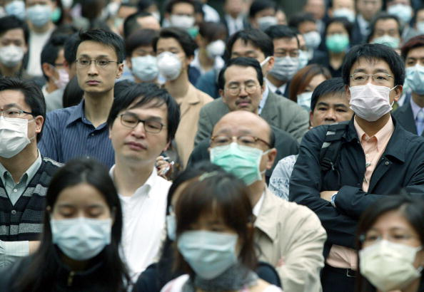 Thermometer「People Wear Masks Due to SARS」:写真・画像(13)[壁紙.com]