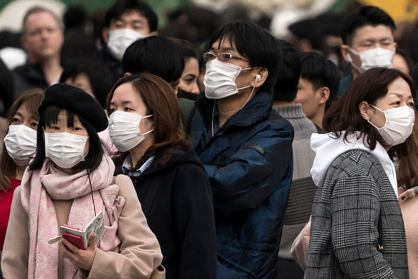 Surgical Mask「Concern In Japan As Wuhan Coronavirus Spreads」:写真・画像(14)[壁紙.com]