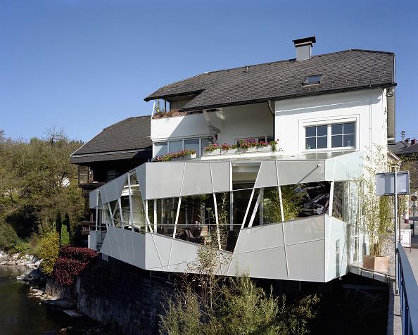 Outdoors「Cafe, Voecklabruck, Upper Austria, architect Gaertner & Neururer, 2007」:写真・画像(8)[壁紙.com]