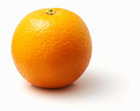 オレンジ色「Orange on white background」:スマホ壁紙(10)