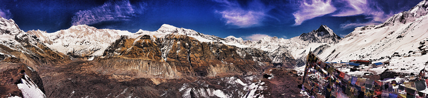 Annapurna Range「Top of the world」:スマホ壁紙(19)