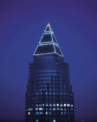 Postmodern「Top of the Messeturm in Frankfurt」:スマホ壁紙(9)