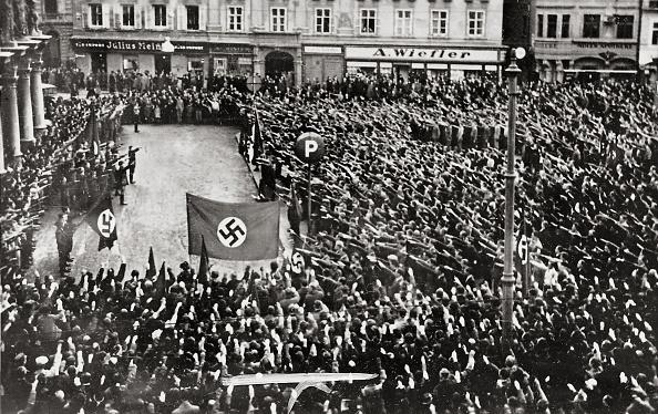 Graz「Mass Rally of the Nazis 1938」:写真・画像(5)[壁紙.com]