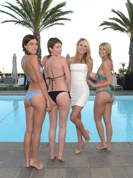 Swimwear「UK Celebrity Kimberley Garner Swimsuit Launch Party」:写真・画像(3)[壁紙.com]