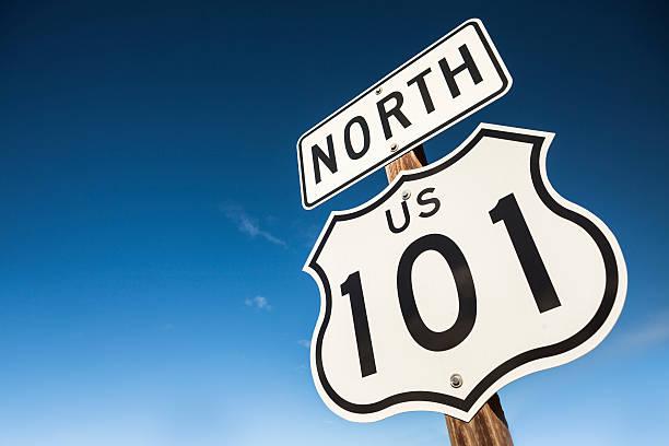 US 101 freeway road sign:スマホ壁紙(壁紙.com)