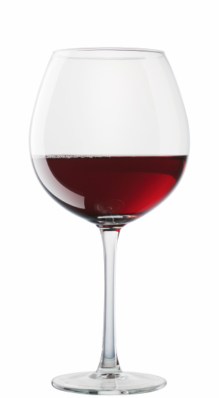 Red Wine「Hermitage wine glass isolated on white background」:スマホ壁紙(16)