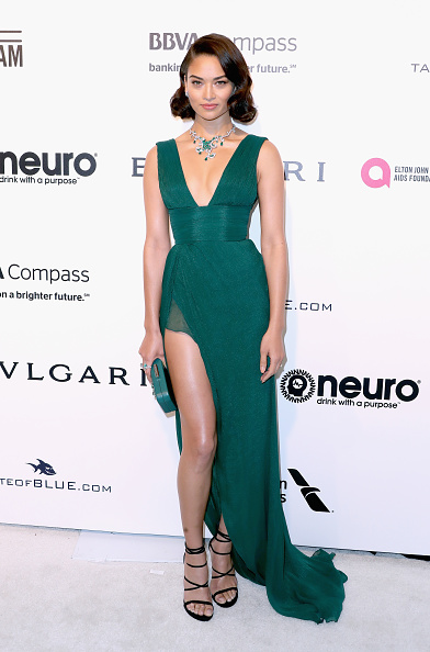 Green Dress「25th Annual Elton John AIDS Foundation's Academy Awards Viewing Party - Arrivals」:写真・画像(15)[壁紙.com]