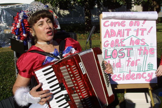 Tallahassee「Protests Over Florida Recount Hearings」:写真・画像(6)[壁紙.com]
