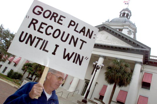 Florida - US State「Bush Supporters in Tallahassee」:写真・画像(0)[壁紙.com]