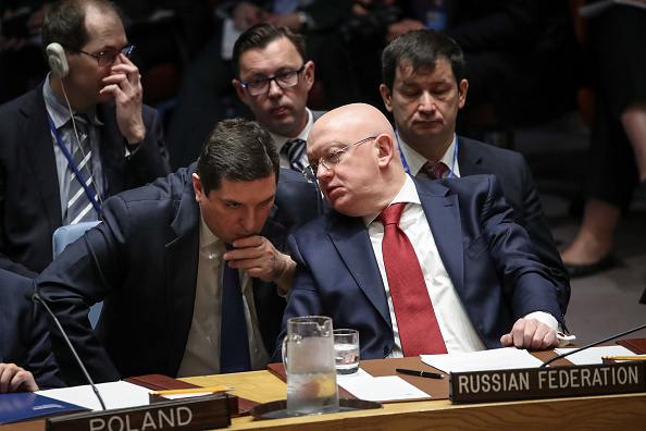 United Nations Building「Security Council Holds Emergency Meeting After U.S. Airstrikes In Syria」:写真・画像(3)[壁紙.com]