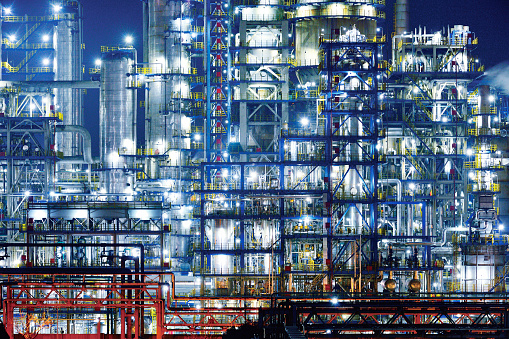 Industrial Building「Refinery & Chemical Plant」:スマホ壁紙(1)