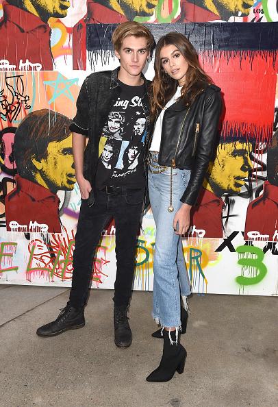 Leather Jacket「TommyLand Tommy Hilfiger Spring 2017 Fashion Show - Front Row & Atmosphere」:写真・画像(16)[壁紙.com]