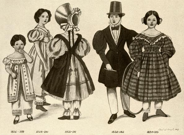 Bonnet「Childrens Clothing From 1820-1840 1」:写真・画像(6)[壁紙.com]