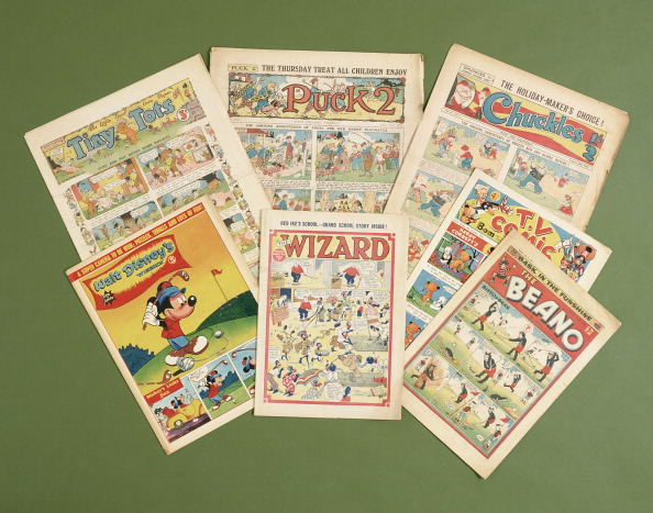 Mickey Mouse「Children's comics with golfing themes, British, c1950s-c1960s.」:写真・画像(1)[壁紙.com]