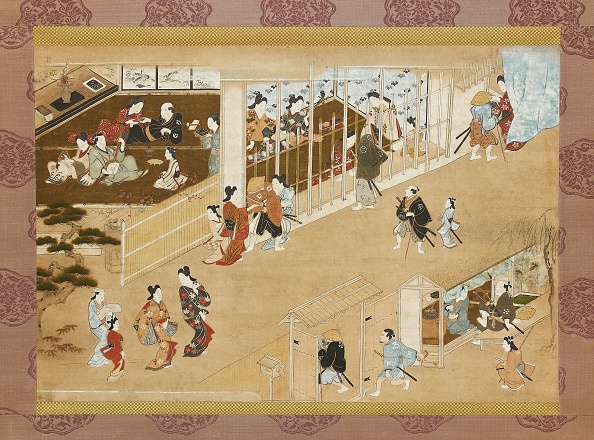 Edo Period「Yoshiwara Pleasure Quarters」:写真・画像(0)[壁紙.com]
