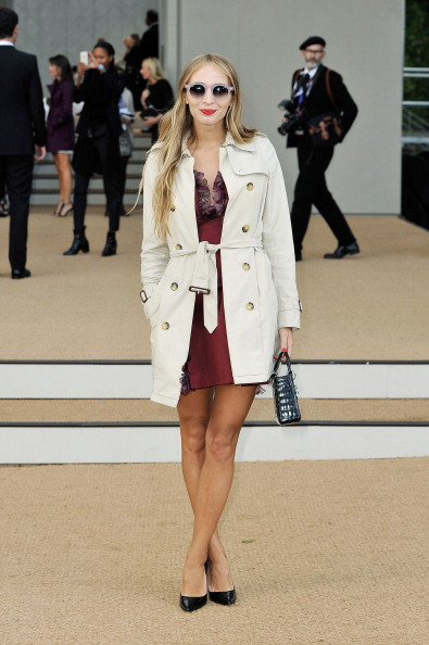 Focus On Foreground「Burberry Prorsum - Arrivals: London Fashion Week SS14」:写真・画像(3)[壁紙.com]