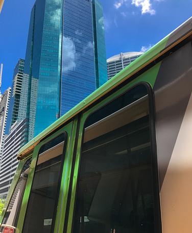 鉄道・列車「Miami Metro Mover」:スマホ壁紙(15)