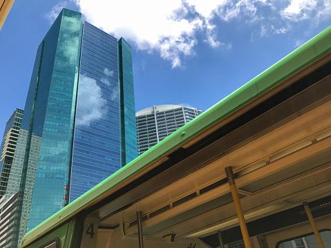 鉄道・列車「Miami Metro Mover」:スマホ壁紙(16)
