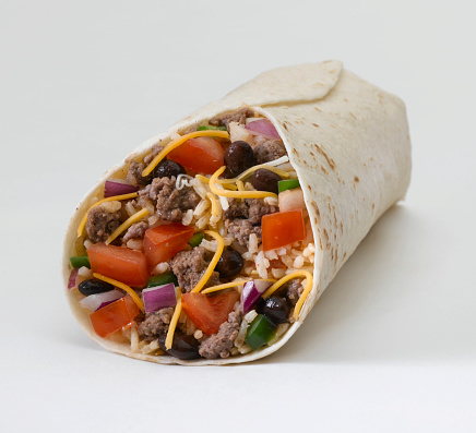 Course - Meal「Burrito (ground beef)」:スマホ壁紙(8)