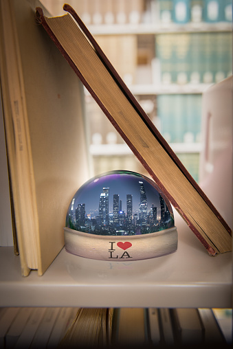 Souvenir「I love Los Angeles snow globe on a shelf」:スマホ壁紙(17)