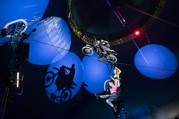 Performers At Gerry Cottle's Wow Circus In Paignton:ニュース(壁紙.com)