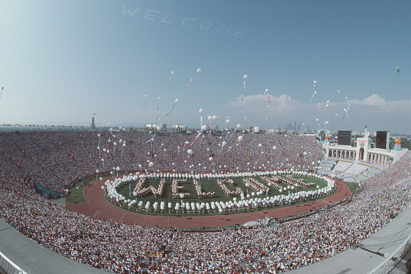 Summer Olympic Games「XXIII Olympic Summer Games」:写真・画像(11)[壁紙.com]