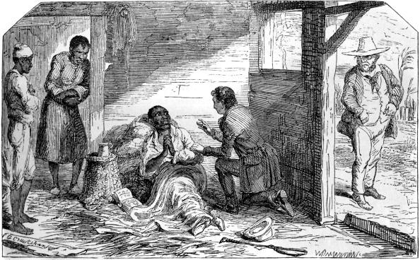 Etching「Uncle Tom's Cabin by Harriet Beecher Stowe」:写真・画像(9)[壁紙.com]