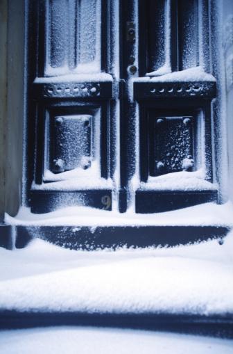Snowdrift「Brooklyn Heights - Snowy doorway」:スマホ壁紙(15)