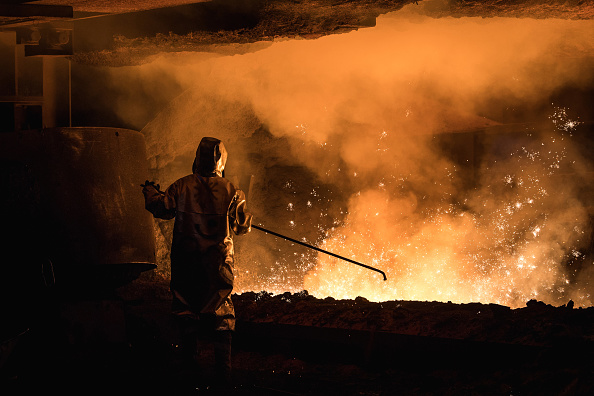 Germany「Steel Production At ThyssenKrupp Duisburg」:写真・画像(14)[壁紙.com]